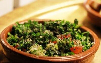 Libanese keuken: Tabouleh