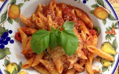 Italiaanse keuken: Penne all'Arrabiata