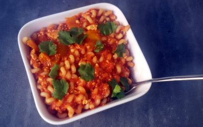 Snelle pasta: tomaten-tofusaus