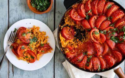 Marley Spoon: Gekruide paella uit de oven