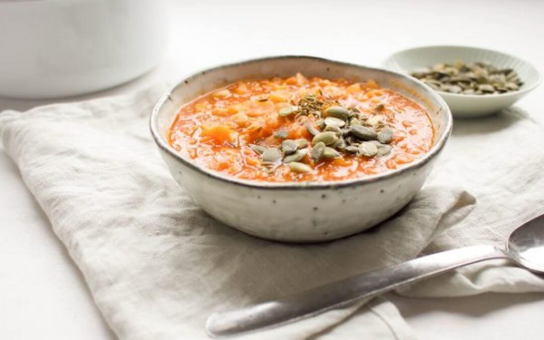 Harira: Marrokaanse soep van tomaat en kikkererwten
