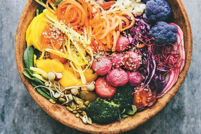 Bowls of Goodness: Regenboogsalade
