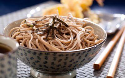 Lezersrecept: Japanse sobanoedels met zeewier en edamame