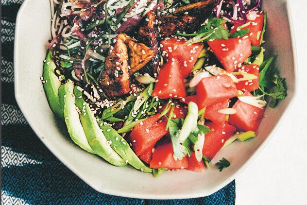 Bowls of Goodness: Pokékom met watermeloen