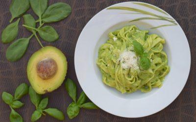 Snelle pasta: avocadosaus