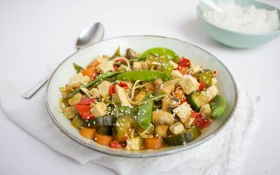 Vegetarische Tjap Tjoy met tofu