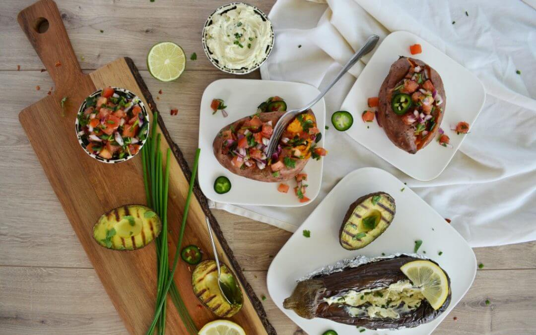 100% vegan barbecue inspiratie