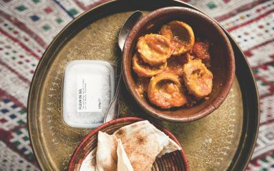 Libanese keuken: artisjok in verse tomatensaus